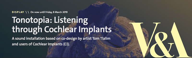 Tonotopia - listening through cochlear implants